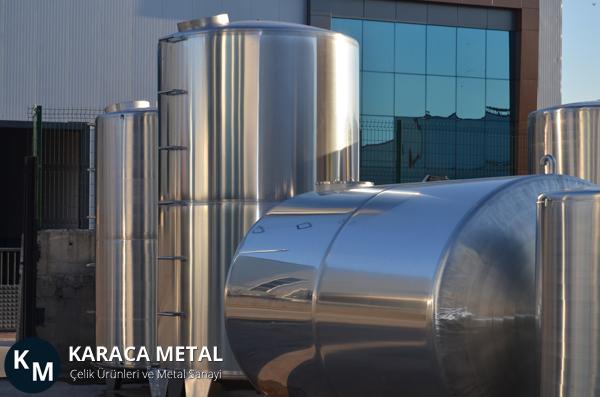Paslanmaz Su Depolama Tankları - Karaca Metal Paslanmaz